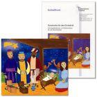 """""""Geschenke für das Christkind."""" Schulgottesdienst Weihnachten (2007) zur Folie / Tattoo """"Heilige Drei Könige"""""""