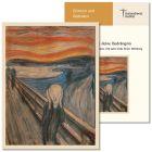 """""""Ich kenne deine Bedrängnis"""". Gottesdienst zum Gedenken 100 Jahre Ende Erster Weltkrieg (2018) zur Karte """"Der Schrei"""" (Munch)"""