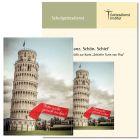 """Schulanfang (2020) zur Karte """"Schiefer Turm von Pisa"""""""