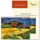 """Erntedankfest und Stationenweg für Familien (2020) u.a. zur Karte """"Ernte am Meer"""" (P. Gauguin)"""