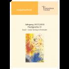 Lesegottesdienst Teil 2 2017/2018