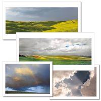 """Spruchkarten Reihe """"Wolken"""""""