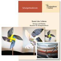 """""""Kunst des Lebens"""". Schulgottesdienst zur Klappkarte """"Kintsugi"""" und zu den Windrädern """"Himmel"""" und """"Gräser"""""""