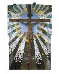 "Karte ""Christus im Strahlenkranz"" (Hundertwasser)"