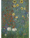 """Karte """"Bauerngarten mit Sonnenblumen"""" (G. Klimt)"""