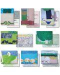 8er-Set Spruchkarten (1-8) Blätterdach - Innehalten