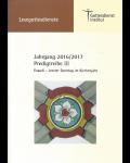 Lesegottesdienst Teil 2 2016/2017